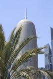 塔在多哈 库存照片