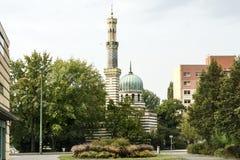 水塔在波茨坦 德国 免版税库存照片