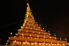 塔在泰国 库存照片