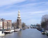 塔在阿姆斯特丹 免版税图库摄影