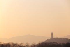 塔在 免版税库存照片