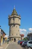 水塔在Drobeta-Turnu Severin 免版税库存图片