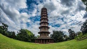 塔在Kew庭院里,伦敦 免版税库存照片