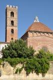 塔在Lucca Toscana 免版税库存照片