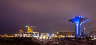 水塔在Malmö 免版税库存图片