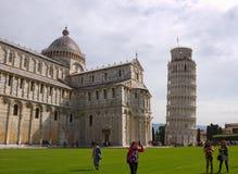 塔在Piza 免版税库存照片