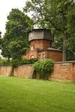 水塔在Pulawy 波兰 免版税库存照片