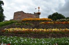 塔姆沃思城堡,斯塔福德郡,英国 库存照片