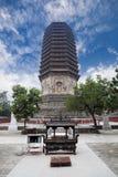 塔寺庙 免版税库存图片