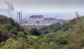 塔尔伯特港钢厂 免版税库存照片