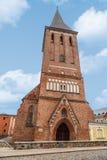塔尔图圣约翰教会 库存照片