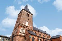 塔尔图圣约翰教会 免版税库存照片