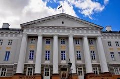 塔尔图univercity,爱沙尼亚 免版税库存照片
