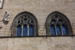 塔尔奎尼亚古董窗口 图库摄影