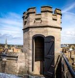 塔屋顶设防 库存图片