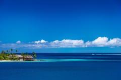 塔希提岛明白水 免版税库存图片