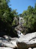 塔希提岛瀑布 库存图片