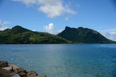 塔希提岛 库存图片