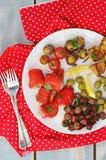 塔帕纤维布食物 免版税库存图片