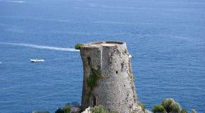 塔废墟 库存图片