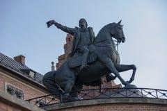 塔德乌什KoÅ› ciuszko的纪念碑 免版税库存照片