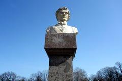 塔德乌什Kosciuszko雕塑  免版税库存照片