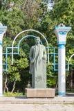 塔拉兹,哈萨克斯坦- 2016年8月14日:Turar Ryskulov 1894-1938 - 图库摄影