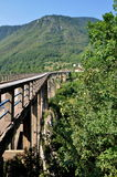 塔拉桥梁在蒙特内哥罗 免版税图库摄影