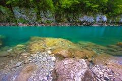 塔拉河峡谷,杜米托尔国家公园国家公园,黑山 库存图片