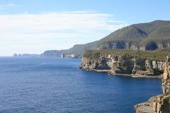 塔斯马尼亚的海岸线 免版税库存图片