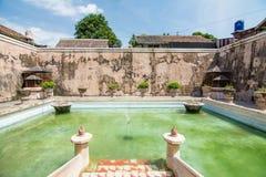 塔曼莎丽服水城堡,印度尼西亚 免版税图库摄影