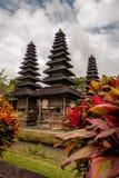 塔曼阿云寺,佛教巴厘岛印度尼西亚 免版税图库摄影