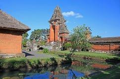 塔曼Ayu寺庙- Mengwi皇家寺庙006 图库摄影