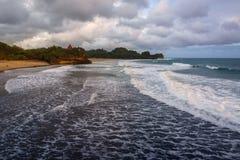 塔曼Ayu海滩 图库摄影