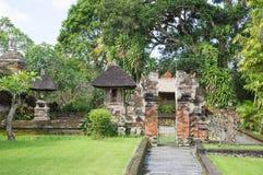 塔曼Ayun寺庙在巴厘岛 免版税库存照片
