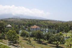 塔曼Soekasada Ujung水宫殿 库存照片