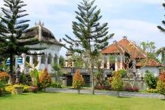 塔曼Ujung宫殿在巴厘岛 免版税库存照片