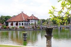 塔曼Ujung水宫殿在巴厘岛 库存照片