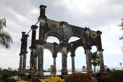 塔曼Ujung,巴厘岛 免版税图库摄影