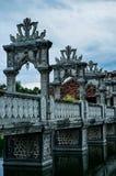 塔曼Ujung水宫殿 库存图片