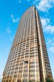塔有蓝天的蒙巴纳斯巴黎 免版税库存图片