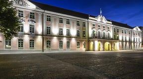 塔林爱沙尼亚,欧洲,城堡正方形 库存照片