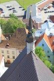 塔林,爱沙尼亚的capitel, ywar 2014年 免版税库存照片