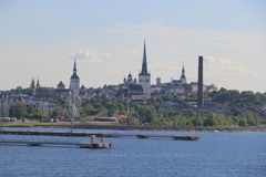 塔林,爱沙尼亚的capitel, ywar 2014年 库存图片