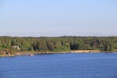 塔林,爱沙尼亚的capitel, ywar 2014年 图库摄影