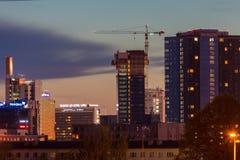 塔林,爱沙尼亚- 2017年5月26日 免版税库存图片