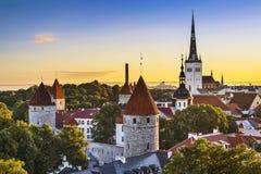 塔林,爱沙尼亚 库存照片