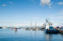 塔林,爱沙尼亚- 7月14 免版税库存图片