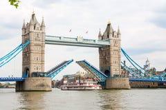 塔桥梁。伦敦,英国 库存图片