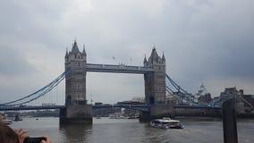 塔桥梁伦敦 图库摄影